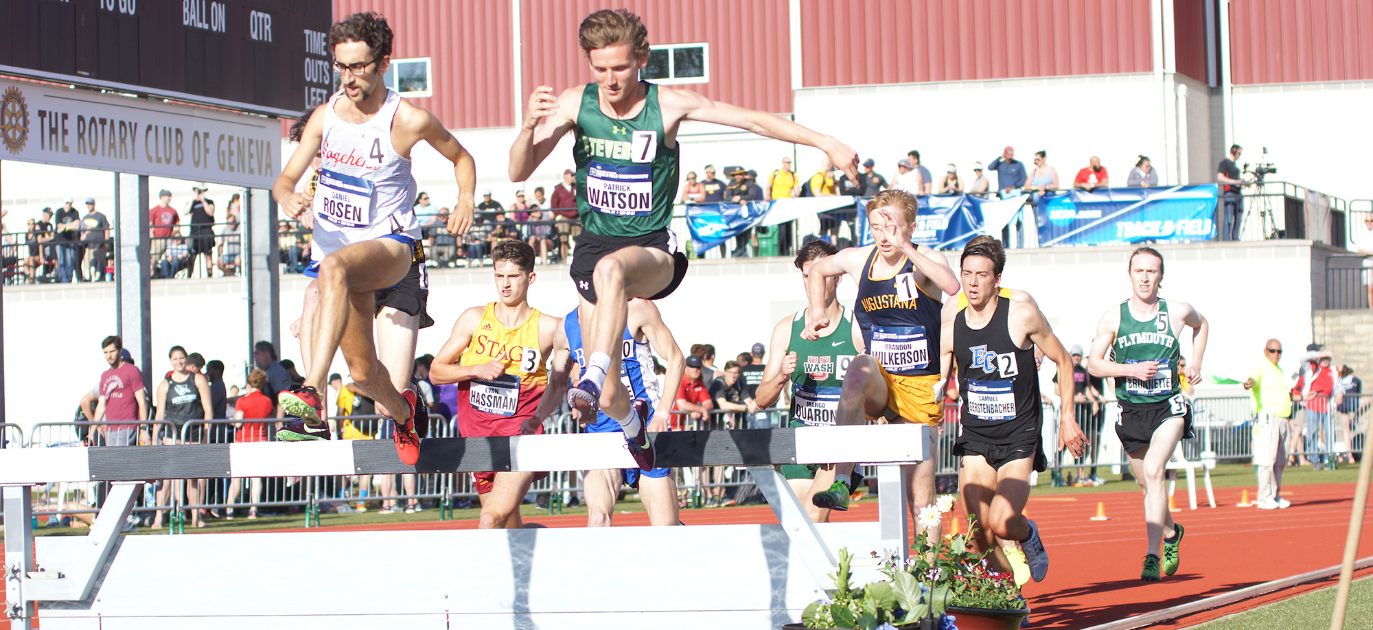 Patrick Watson Qualifies for NCAA Final in 3000-Meter Steeplechase