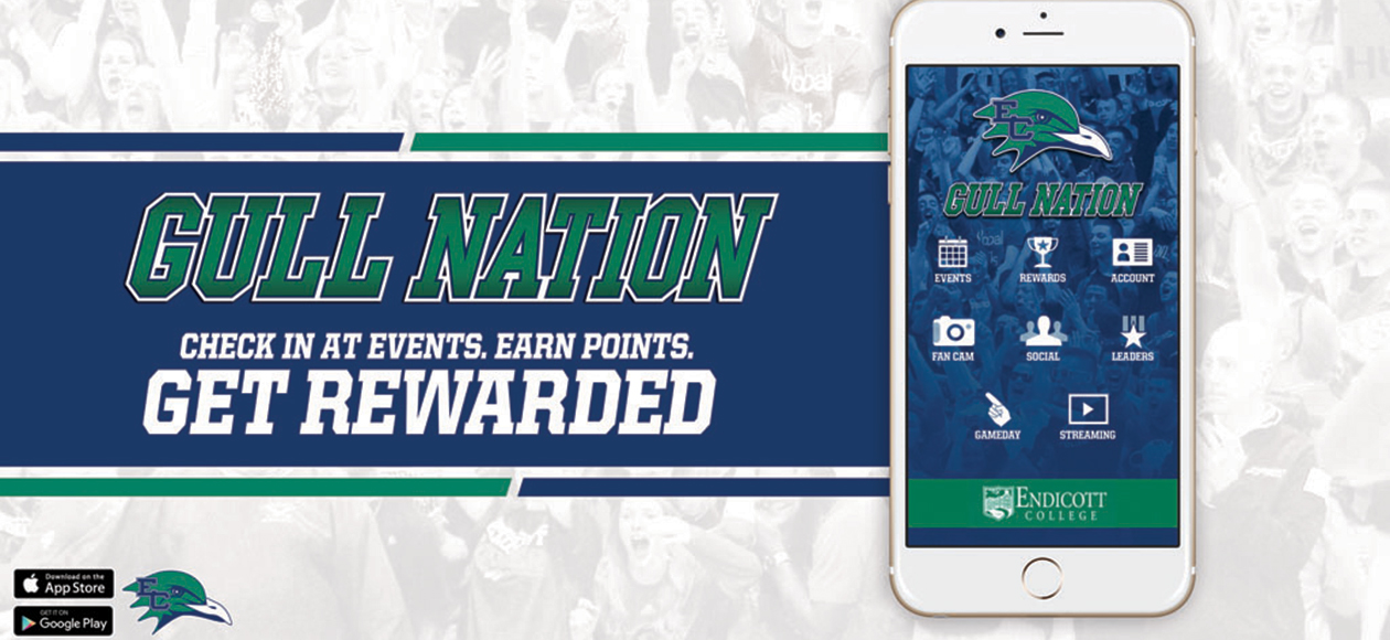 Download The Endicott Athletics GULL NATION SuperFanU App