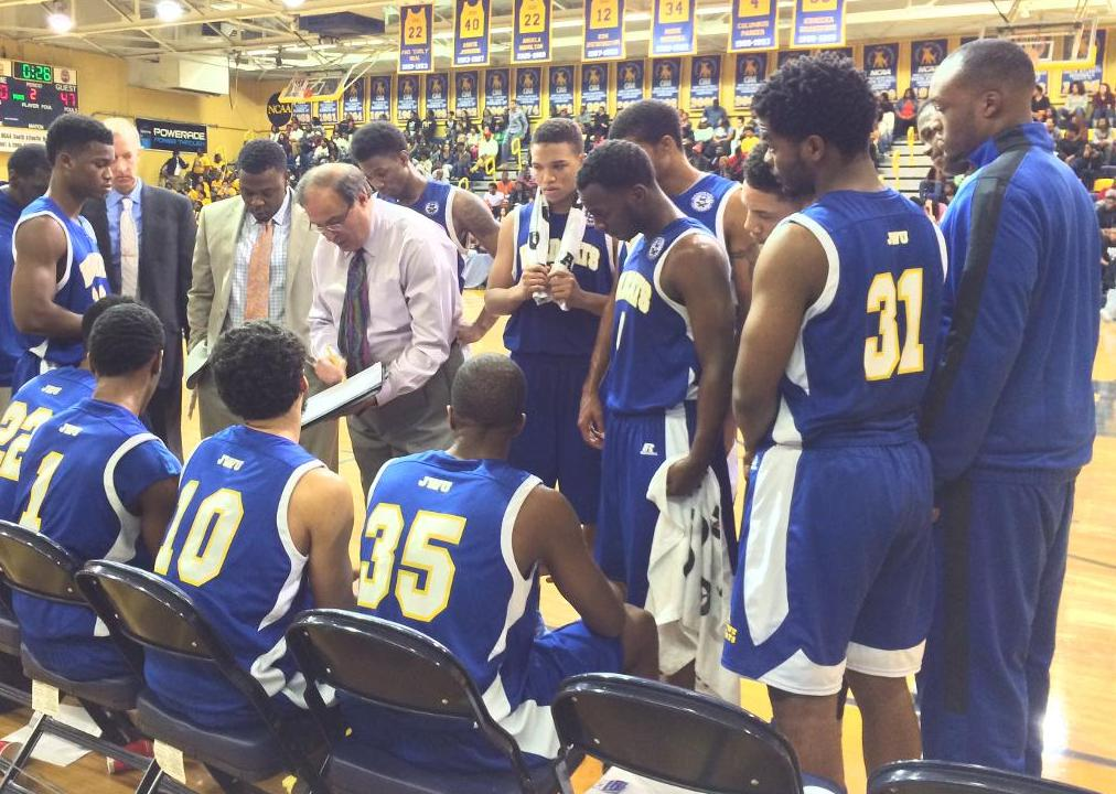 JWU Men's Basketball Competes in JCSU Tourney