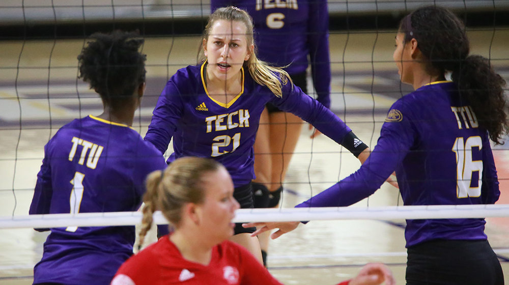 Tech volleyball to decide OVC Tournament fate on Senior Day against UT Martin