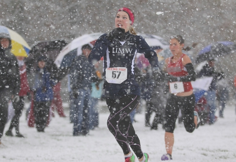 UMW Men's, Women's Cross Country Finish 2nd at CAC Championships