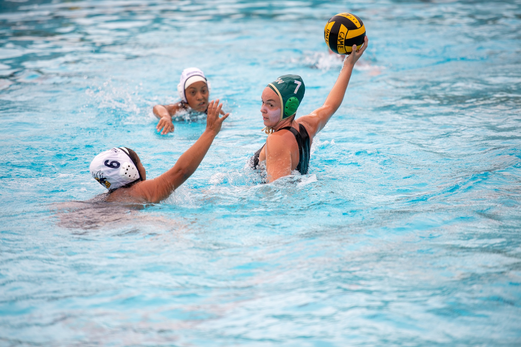 W Water Polo: Rustlers Drop First Conference Match