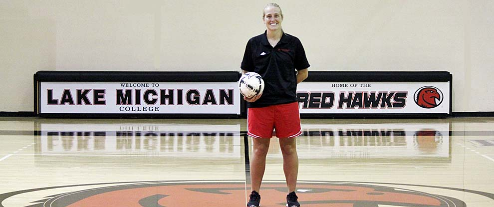 Photo for Justine Dover Named Head Women's Soccer Coach