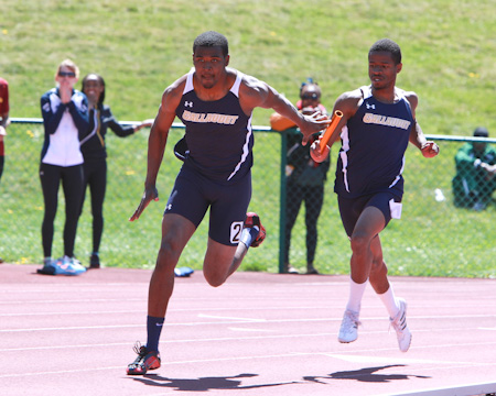 GU men's 4x400 relay team breaks 20-year-old school record at Mason-Dixon Outdoor Championships