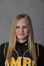 Katrina Gaar scored the game-winning run for UMBC on Monday