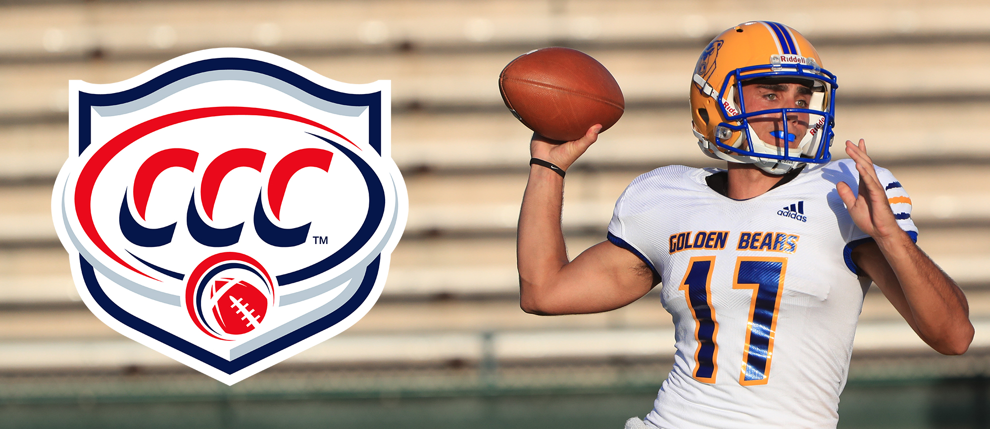 Alec Coleman Collects Sixth Career CCC Football Offensive Player of the Week Award