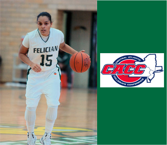 Peguero Named CACC Student-Athlete Of The Month