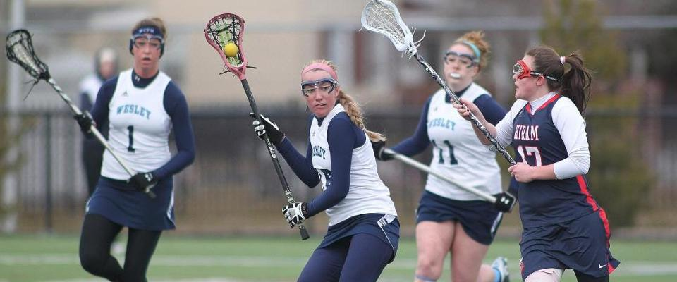 Women's Lacrosse Blows Past Centenary