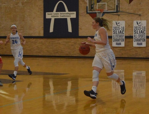 Westminster Women's Basketball Suffers First Loss to Central
