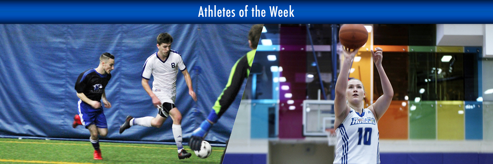 COCO SAUVE, MICHAEL WHELAN NAMED HUSKIES ATHLETES OF THE WEEK