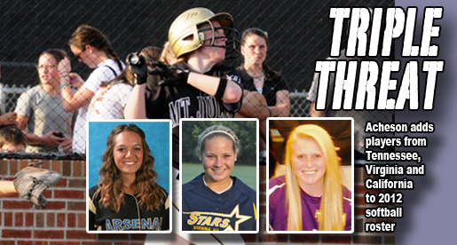 Softball program adds standouts from Tennessee, Virginia and California