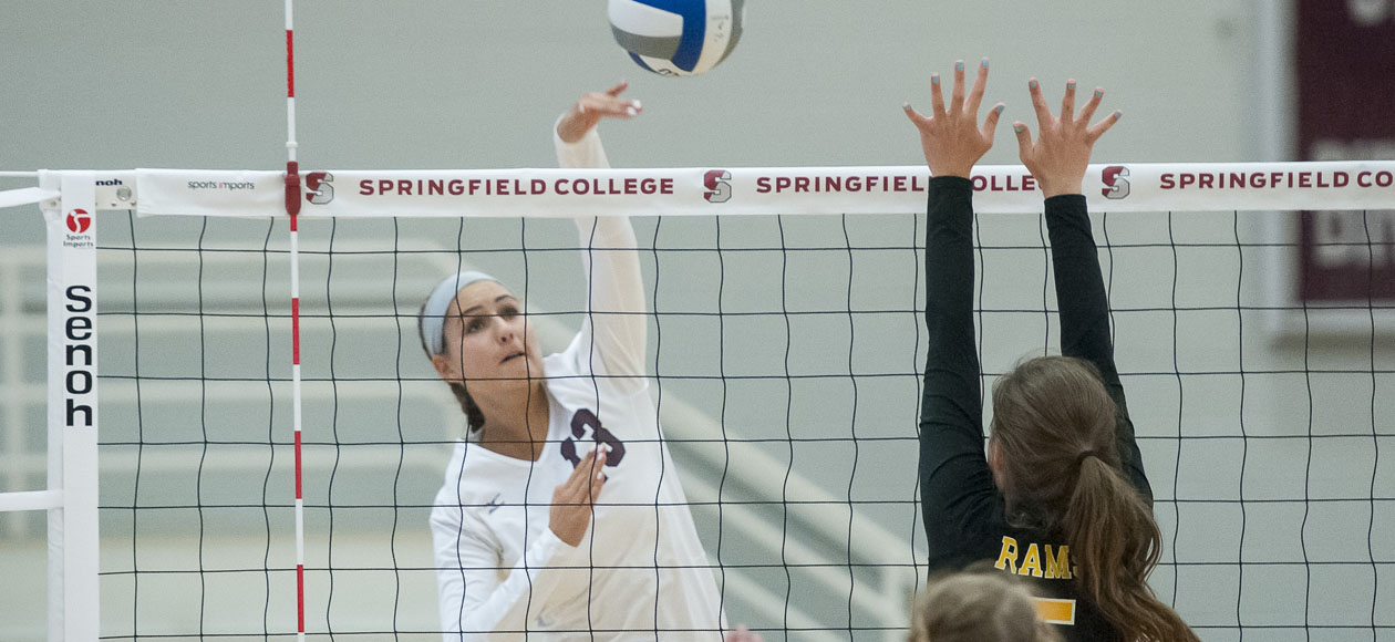 Women's Volleyball Rolls Past Smith In Straight Sets