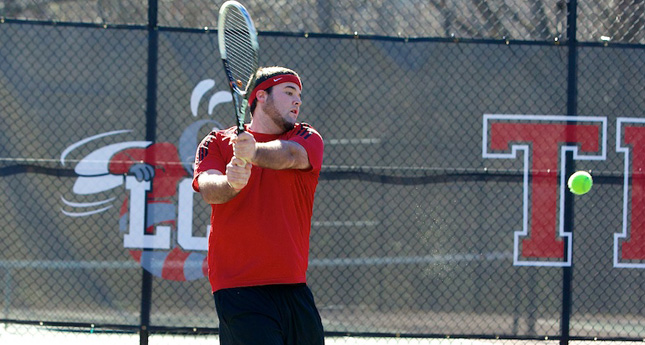 LC Men's Tennis Defeated by Guilford 9-0