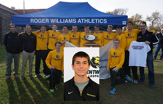 Robbins, Cross Country Team Honored by USTFCCCA