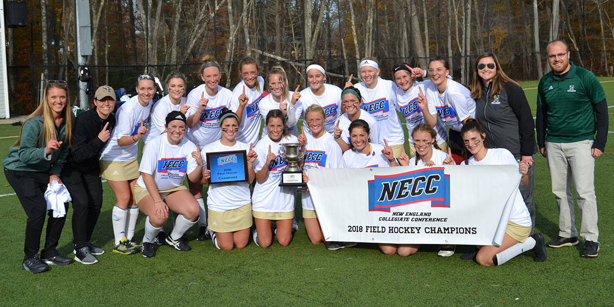 Brochu's OT Goal Helps Eagles Capture the NECC Field Hockey Championship