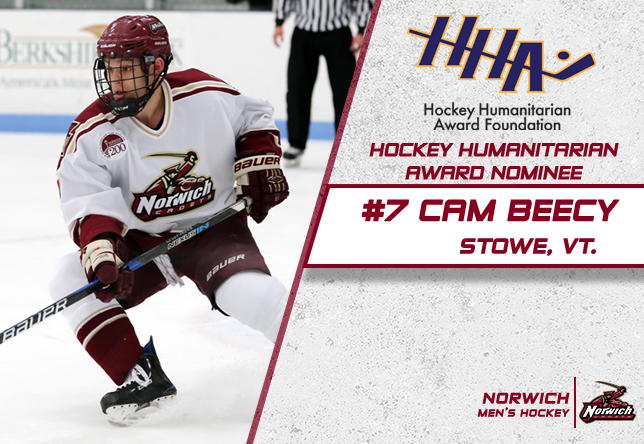 Cam Beecy - Hockey Humanitarian Award nominee