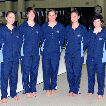 Swimming and Diving Falls to Wellesley on Senior Day