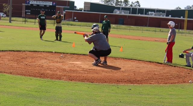 Ware Hosts Baseball Camp