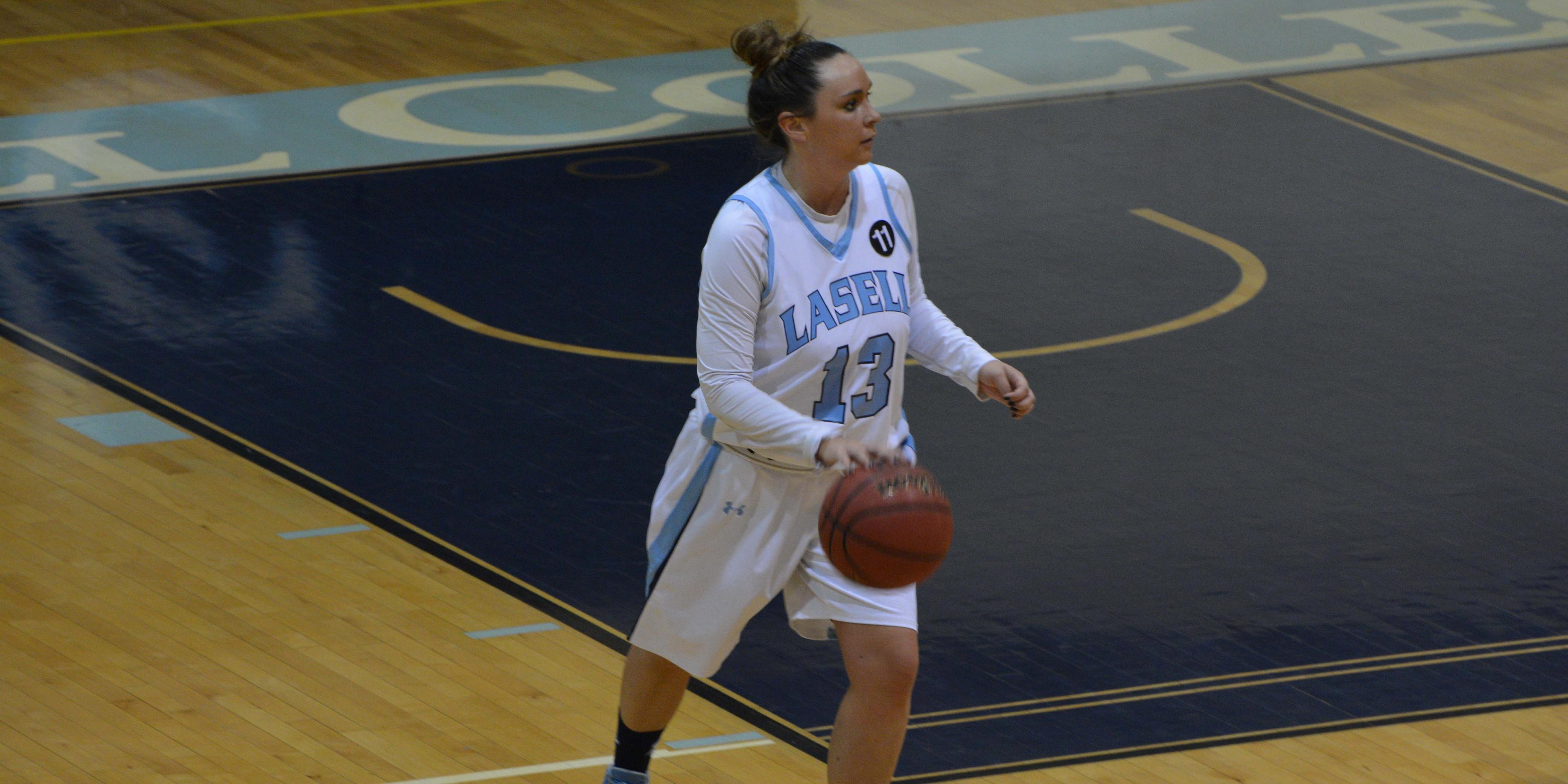 Falcons Soar Over Lasers 81-59 in Women's Basketball
