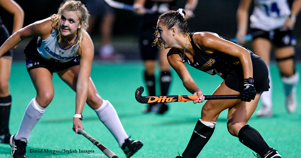 Field Hockey Strikes Early, Rolls Late