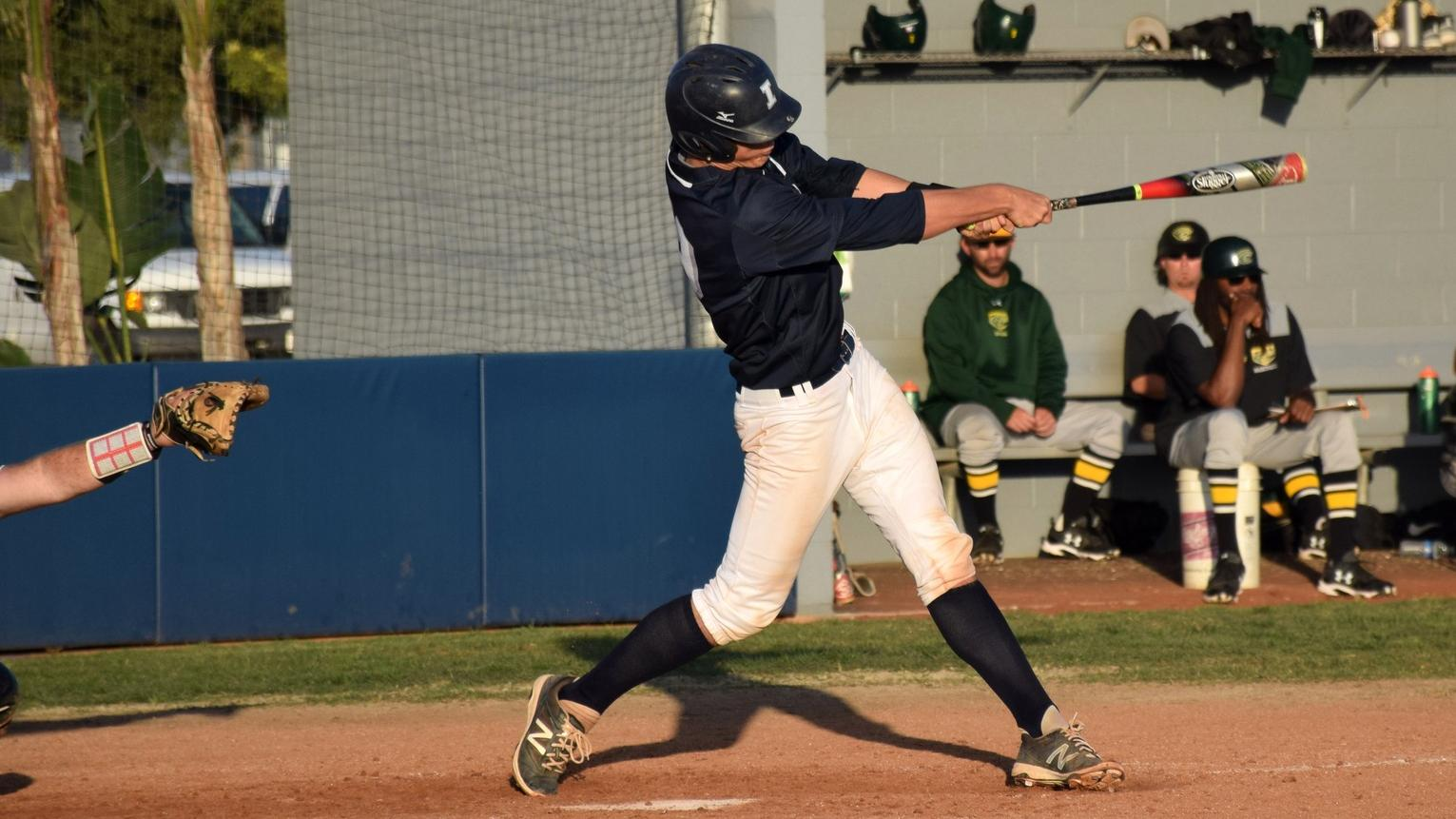 Baseball team comes up short at home against Grossmont