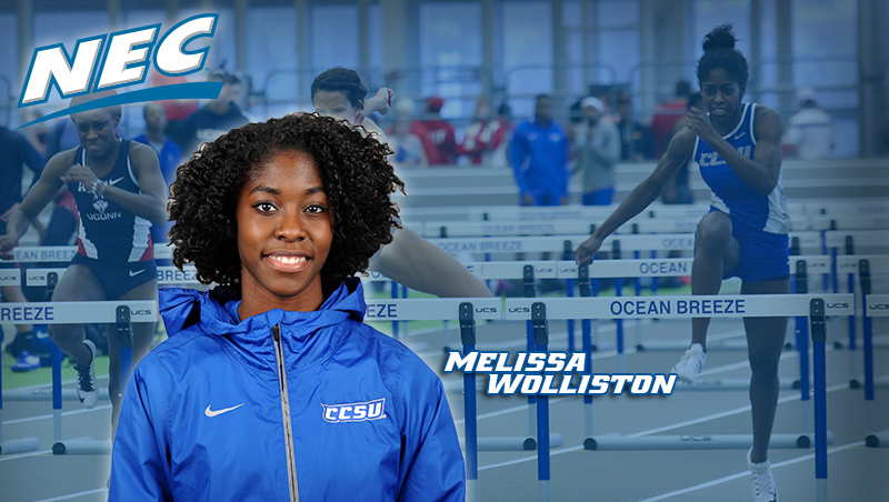 Wolliston Ties School Record Saturday, Qualifies For ECAC Finals