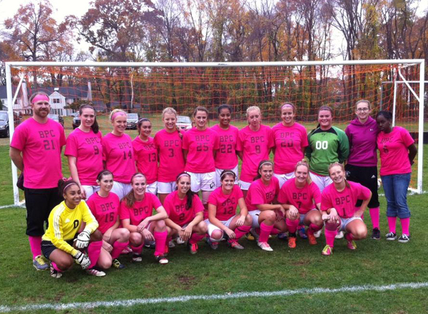 Bay Path Defeated by Mariners in Pink Out Match