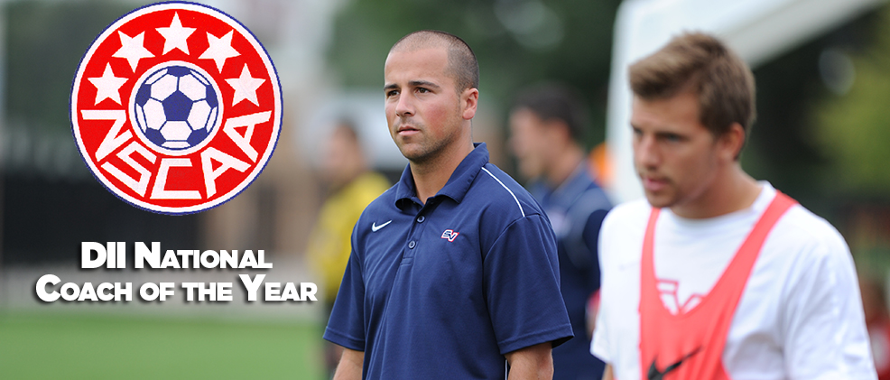 Wassermann Tabbed NSCAA DII Coach of the Year