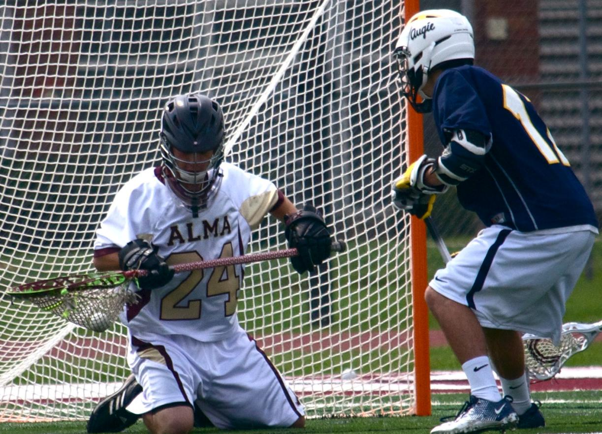 Scots Men's Lacrosse notches first win of season 7-5 at Wilmington on Sunday