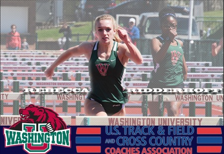 Rebecca Ridderhoff Collects USTFCCCA Division III National Award