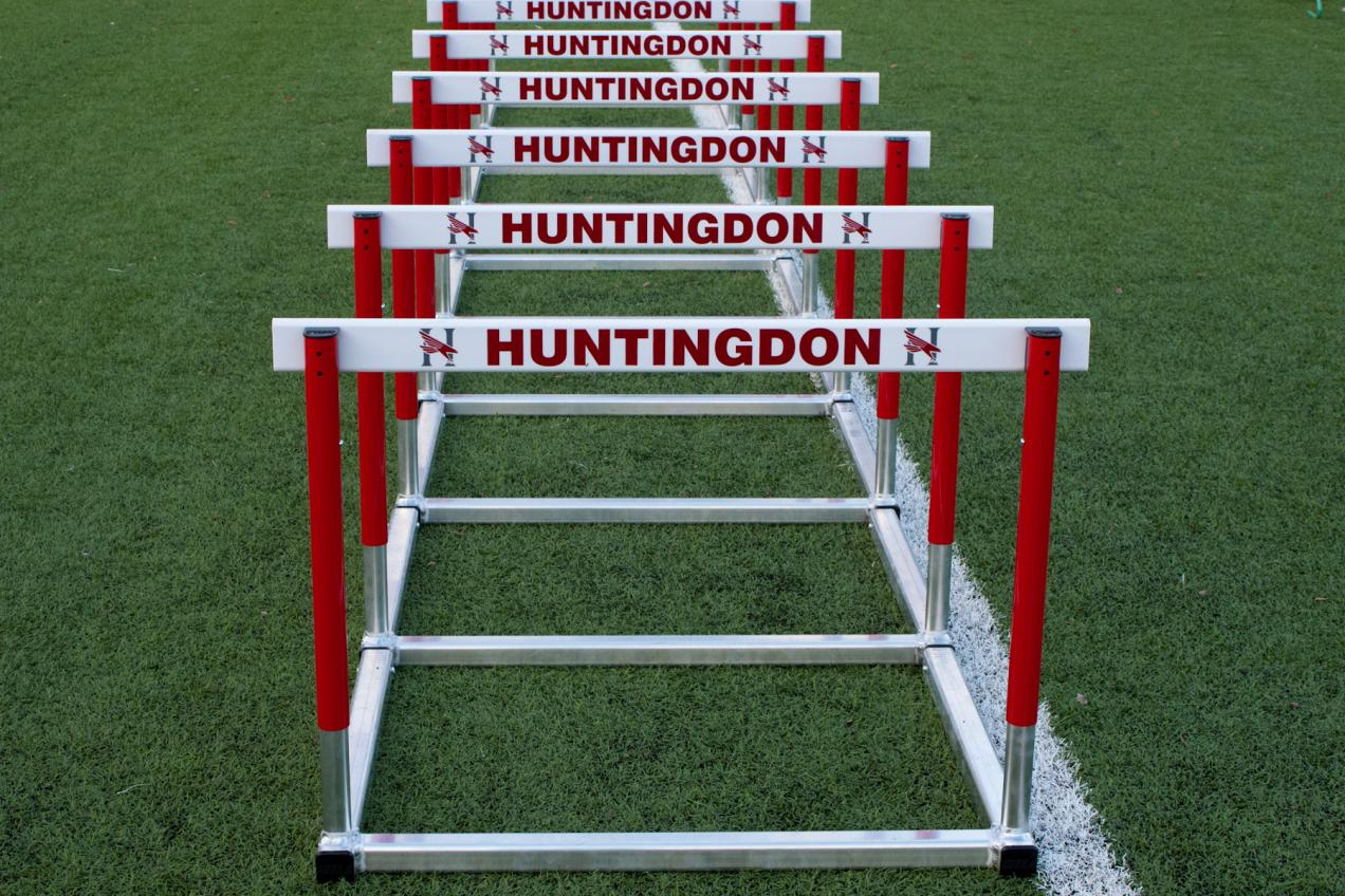 Huntingdon women's track and field premiers on Sunday