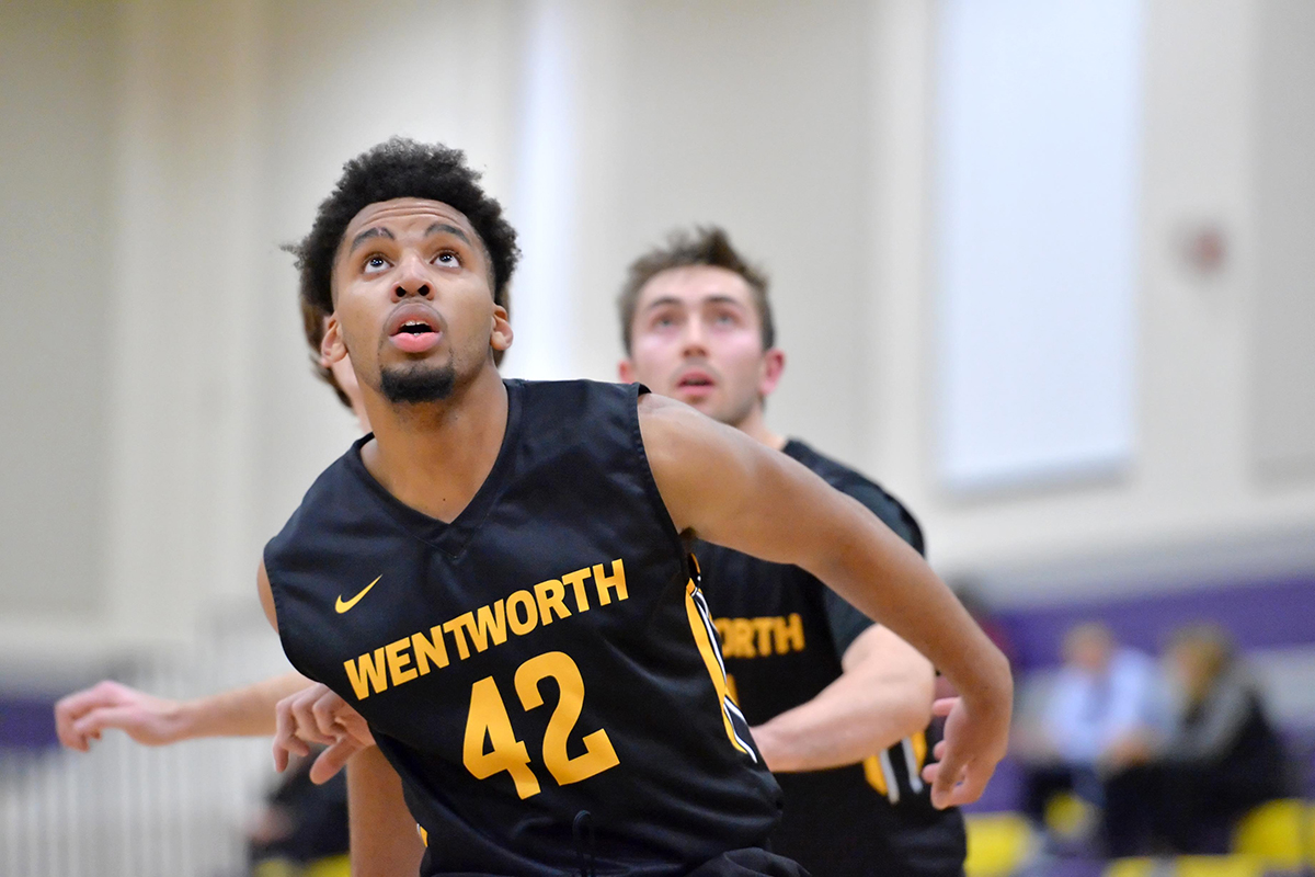 Late Comeback Pushes Men's Basketball Past Western New England