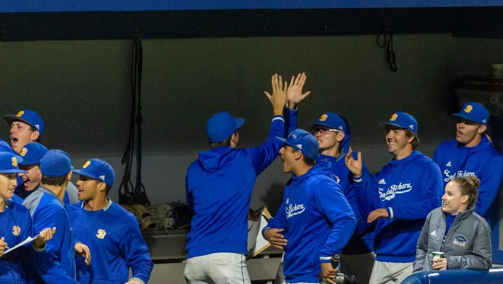 UCSB Dugout (Photo by Jeff Liang)