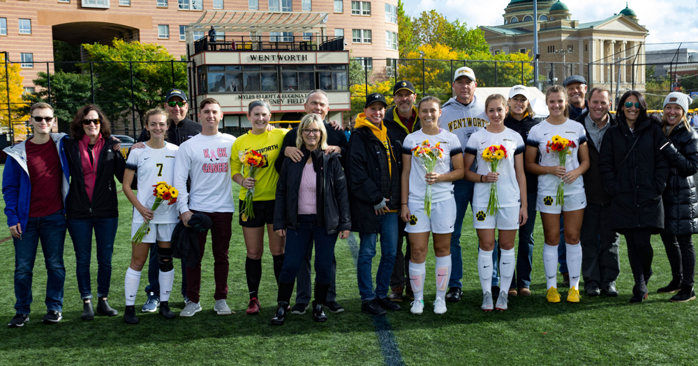 Women's Soccer Falls to Gulls in Overtime on Senior Day