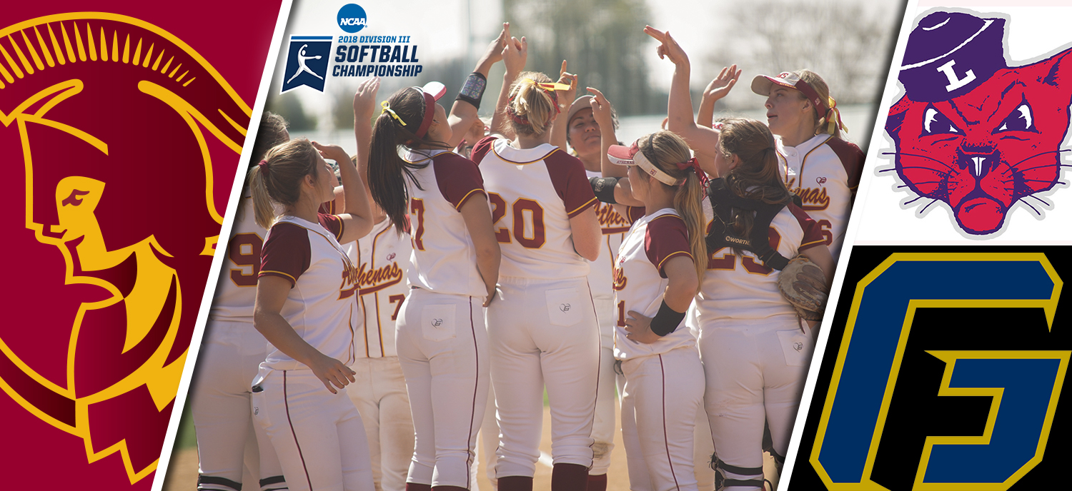 Athenas Begin NCAA Tournament Run Friday