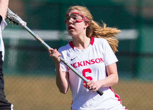 Megan Taylor caused five turnovers, controlled five ground balls and four draws on Saturday<BR>