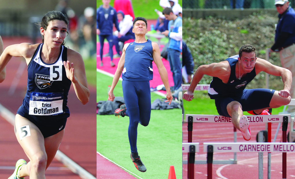 Emory Track & Field Trio Selected to CoSIDA Academic All-District Team