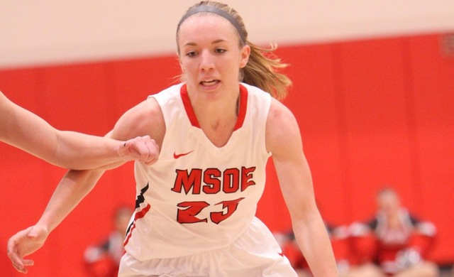 Spanbauer Seals Season-Opening Win for Women's Basketball