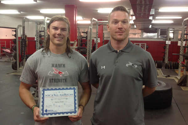 Huntingdon's Hooper named NSCA All-American Athlete of the Year