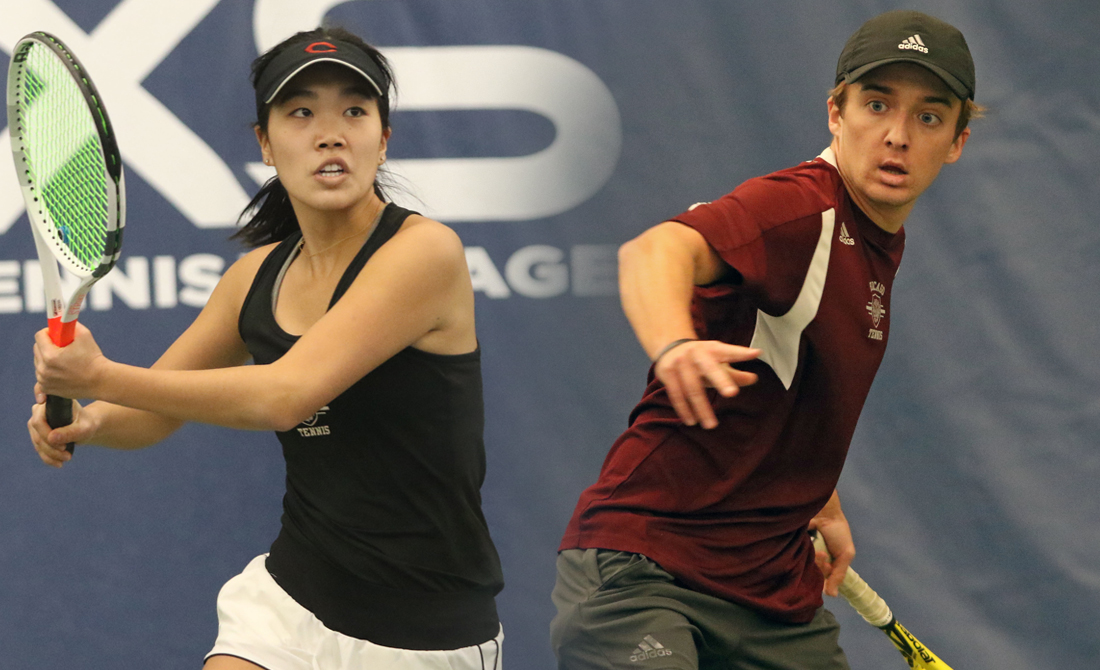 Lauren Park and Alex Guzhva
