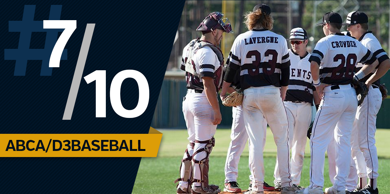 Centenary Baseball Sits in Top 10 in National Rankings