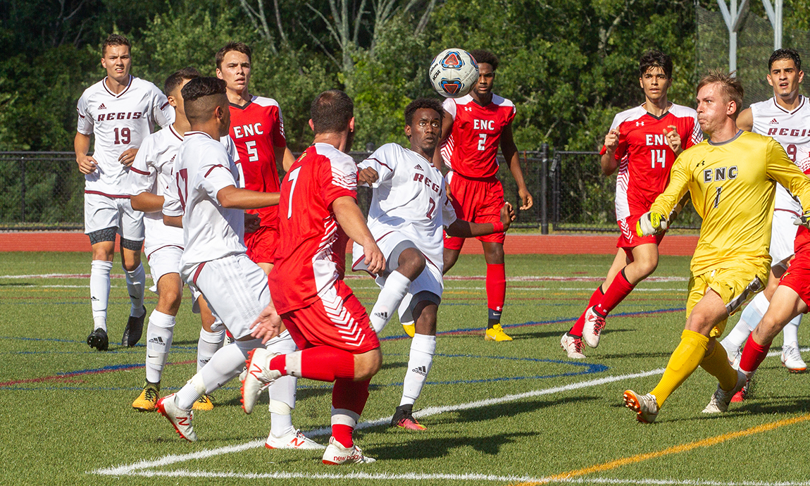 Regis Men's Soccer Holds On For 1-0 GNAC Win