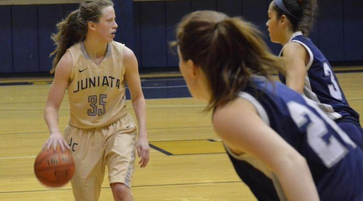 Juniata Upsets No. 19 Moravian 73-63, Improve to 6-4 in Landmark