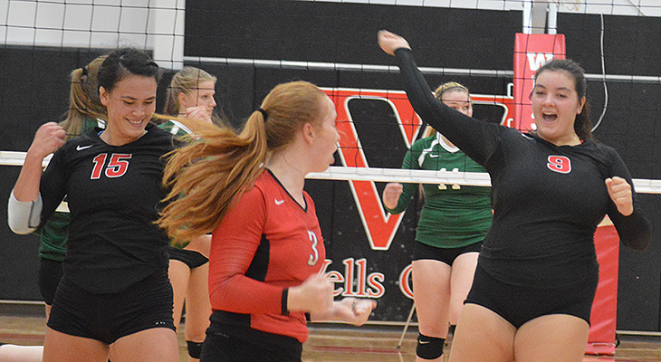Two Wins For Women's Volleyball