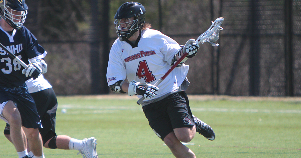 Burnett Five-Point Outing Helps Men's Lacrosse Win at Saint Rose, 13-10