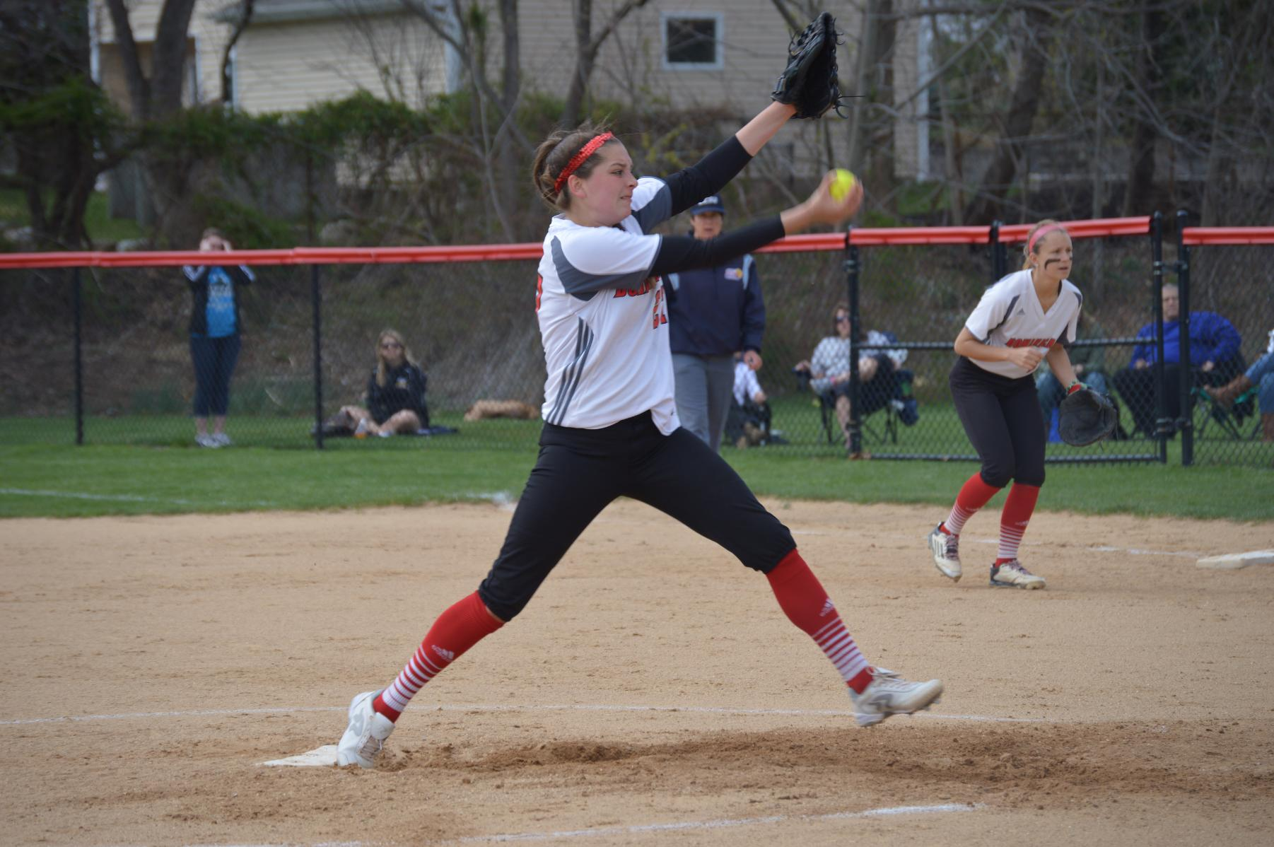 LADY CHARGERS SWEPT BY SOUTHERN NEW HAMPSHIRE