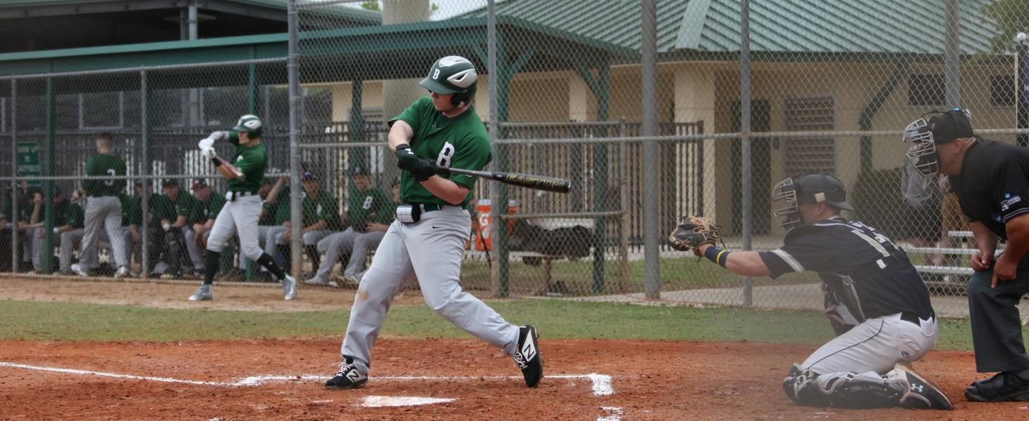 Baseball Rallies to Edge Gallaudet