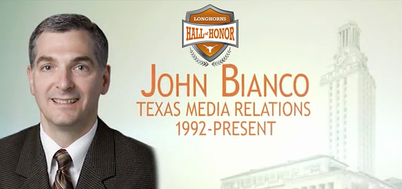John Bianco '88 Among the Top Athletics Communicators in Collegiate Athletics