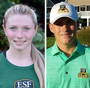 Marissa Lathrop - Cross Country / Sean Barron - Golf