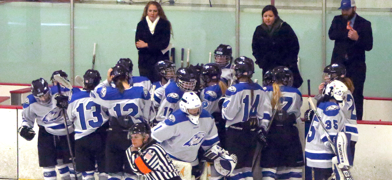 Lady Ice Hawks Clinch CHC Playoff Spot With 10-1 Win Over Eagles